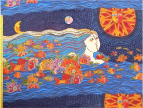 Meerjungfrau gross, Sea Spirits, Laurel Burch